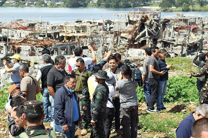 marawi ground zero rehabilitation