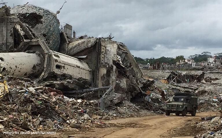 rebuild war-torn Marawi