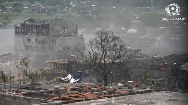 rebuilding Marawi